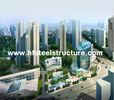 China OEM Industrial Sawing, Grinding, Punching and Waterproof Multi-storey Steel Building factory