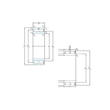 NNCF4926CV SKF Cylindrical Roller Bearings