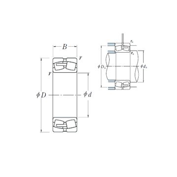 23968CAE4 NSK Spherical Roller Bearings